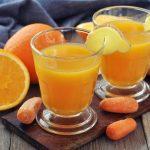 فوائد عصير الجزر والبرتقال