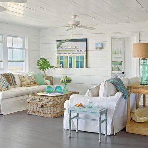 الطراز الساحلي الديكور يجعل منزلك