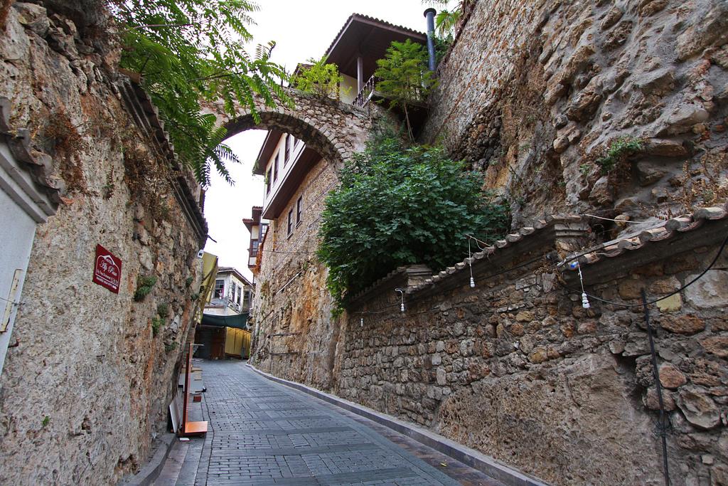 شوراع المدينة القديمة