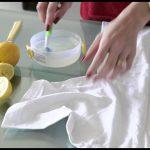 طريقة تنظيف وازالة البقع عن الملابس البيضاء