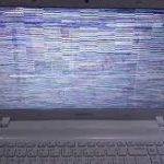 ظهور الوان غريبة على شاشة اللابتوب وطريقة الصيانة