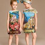 اختاري لطفلتك أحدث أزياء الصيف من دولتشي اند غابانا