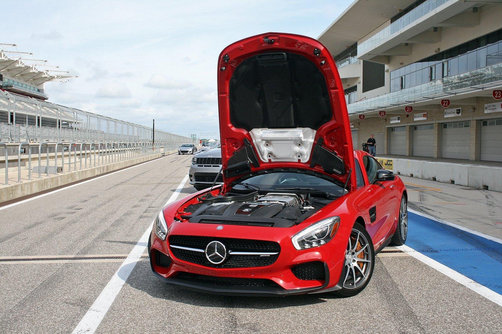 Mercedes AMG GT S 2017