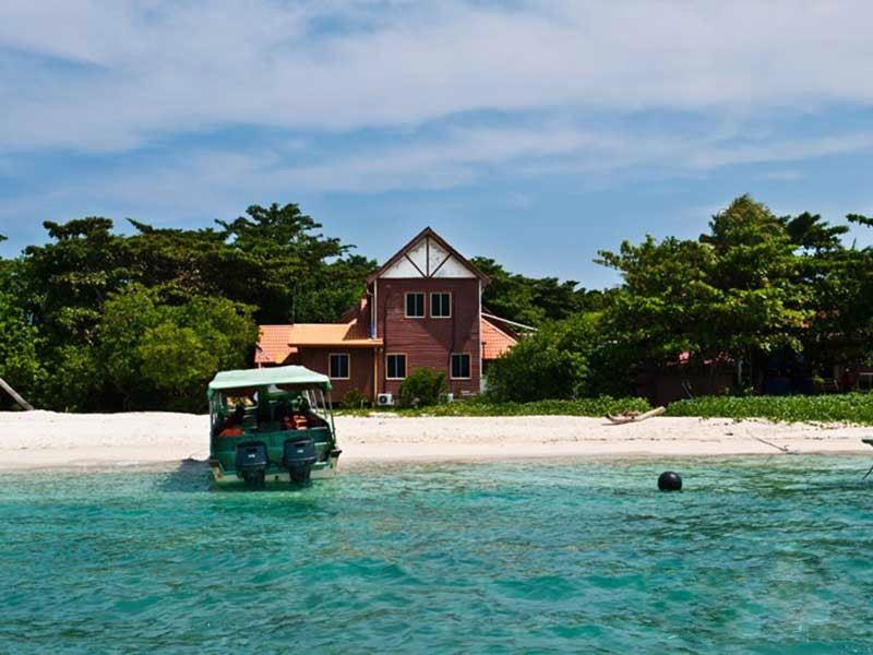 الإقامة في جزيرة سلينجان
