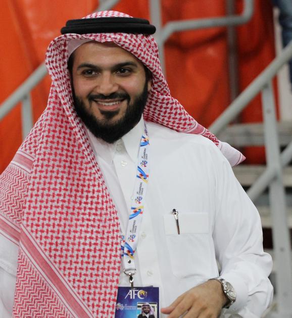 أنمار الحائلي رئيس نادي الاتحاد الجديد