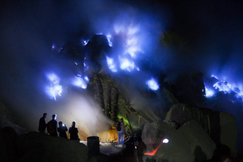 بركان Ijen Crater
