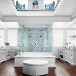 حمام باللون الأبيض - 495674