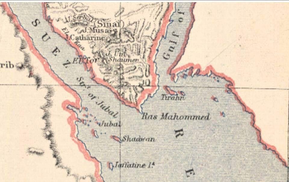 خريطة واضحة بالكونجرس تؤكد سعودية الجزيرتين