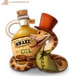 """فوائد زيت الثعبان """" Snake oil"""""""