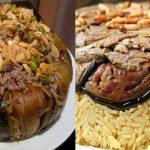 طريقة عمل المقلوبة الأردنية باللحم