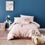 غرفة نوم باللون الأزرق - 494888