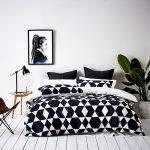 غرفة نوم باللون الابيض - 494895