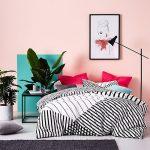 غرفة نوم باللون الروز - 494891