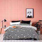غرفة نوم باللون الوردي - 494899