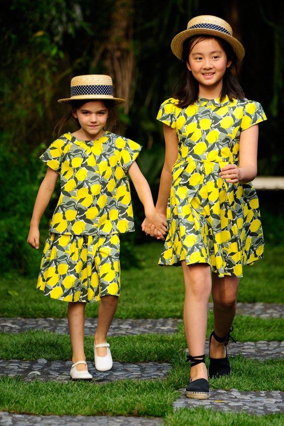 فستان-منقوش-باللون-ا