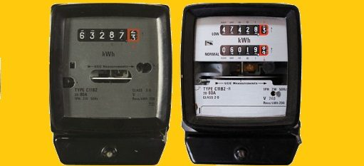 صورة توضح شكل عدد الكهرباء بأنواعه