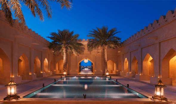 نتيجة بحث الصور عن قصر السراب منتجع الصحراء أبوظبي