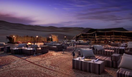 الطبيعة الصحراوية لمنتحع قصر السراب
