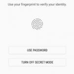 خاصيمة الامان في تطبيق Samsung Internet Beta - 494117