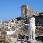 جزيرة ديلوس اليونانية
