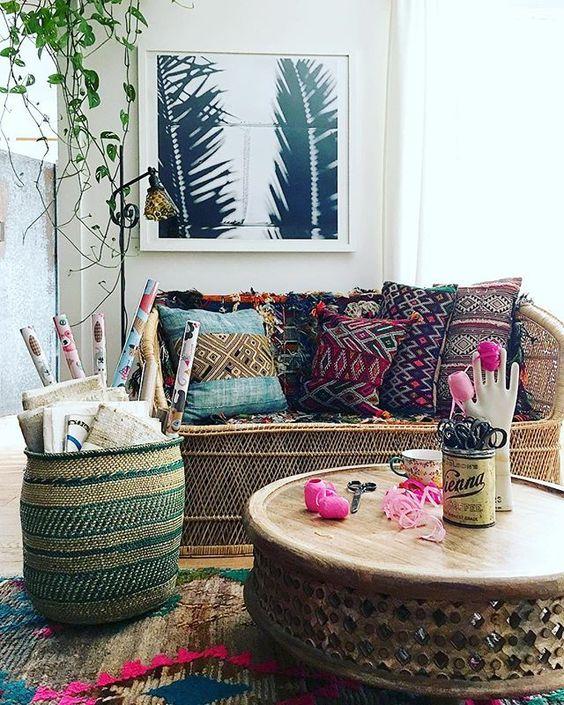 جلسات صغيرة الطراز المغربي