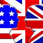 """الفرق في اللغة الانجليزية """" البريطانية """" و """" الامريكية """""""