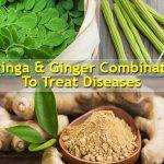 شاي المورينجا والزنجبيل لعلاج أمراض عديدة