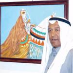 الفنان التشكيلي الكويتي بدر القطامي