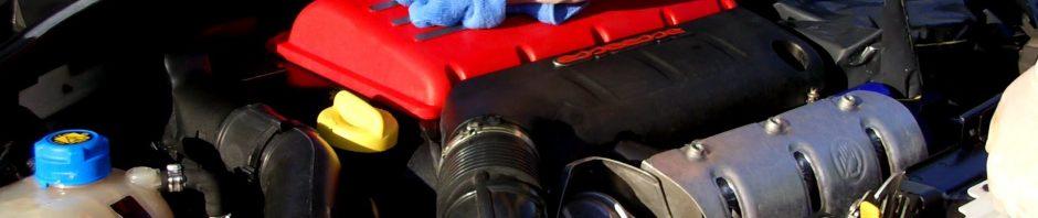طريقة تنظيف مكينة السيارة الداخل