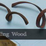 طريقة طي الخشب و ثنيه