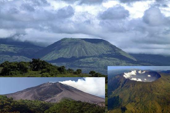 جبل غونونغ تامبورا البركاني