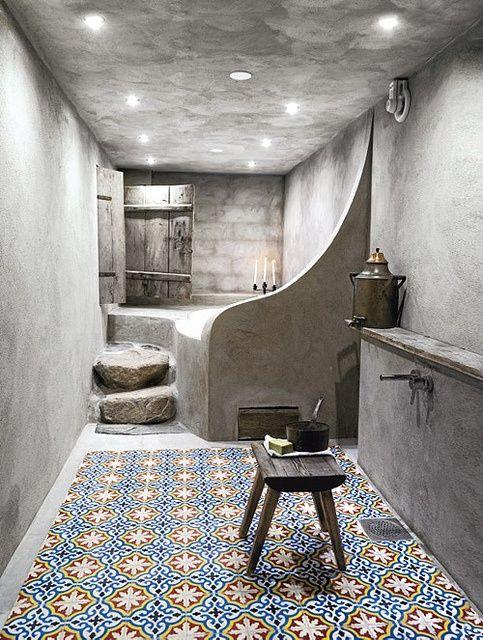 حمام حجري