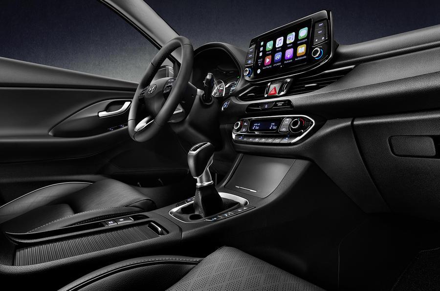 كونسول الوسطي للسيارة هيونداي I30 2018 فاست باك