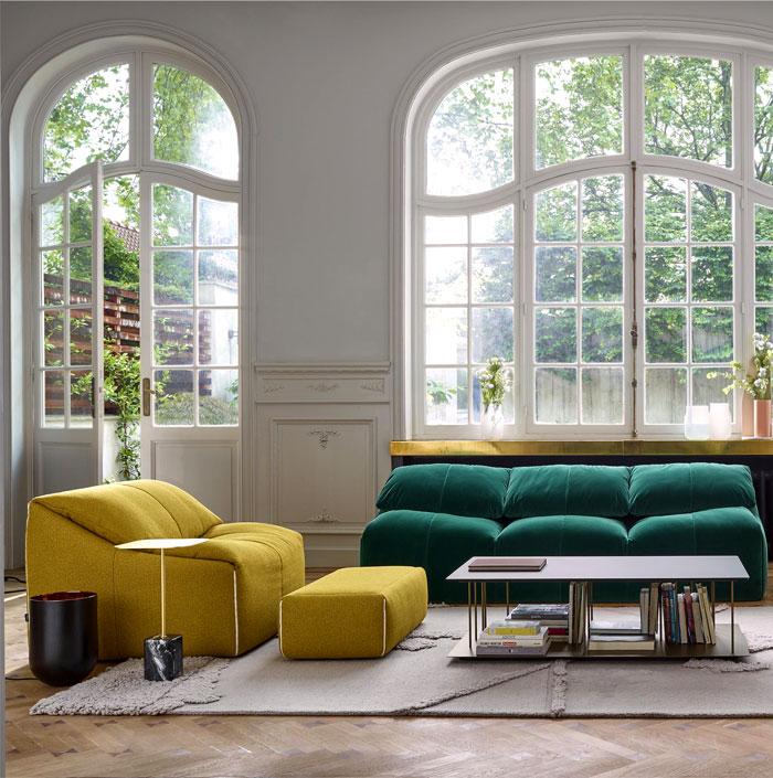 9 Home Decor Trends To Follow In 2019: ركن جلوس بألوان فاتحة