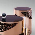 طاولات قهوة بزخارف عربية
