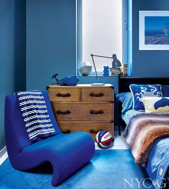 2018 غرفة-نوم-باللون-الأز