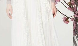 03a85aca4 فساتين زفاف رقيقة 2018 من ماركيزا