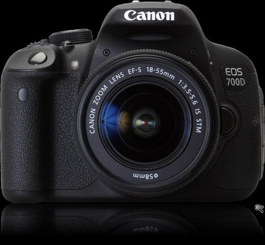 شكل كاميرا كانون 700 دي