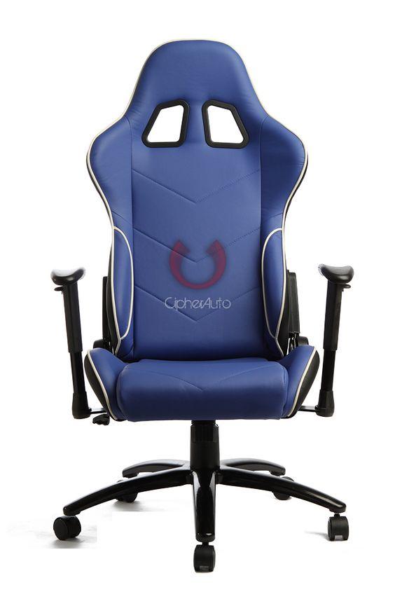 كرسي باللون الأزرق