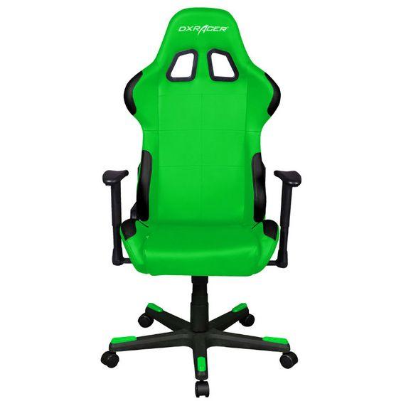 كرسي باللون الأخضر