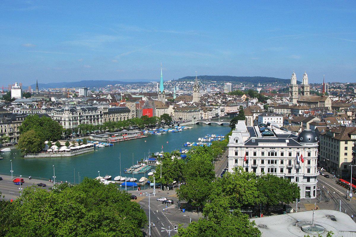 شلالات الراين سويسرا