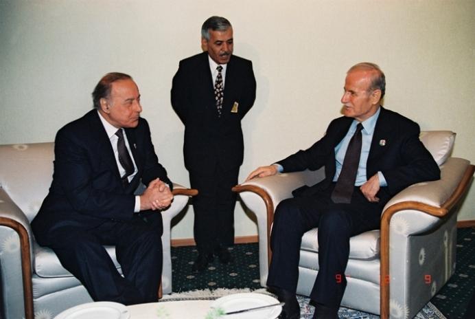 حيدر علييف رئيس اذربيجان