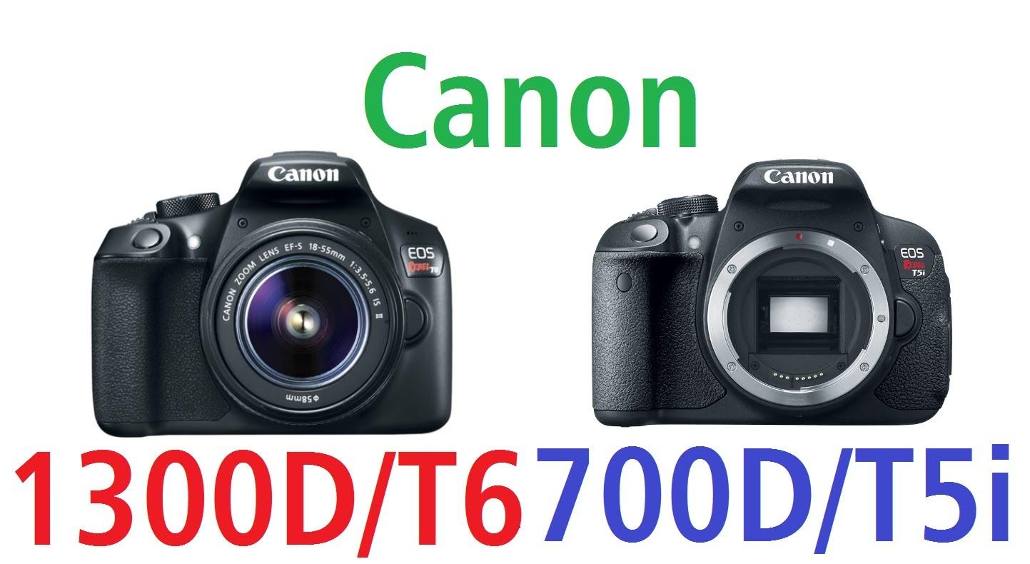 مواصفات كاميرا كانون 700 دي و كانون 1300 دي