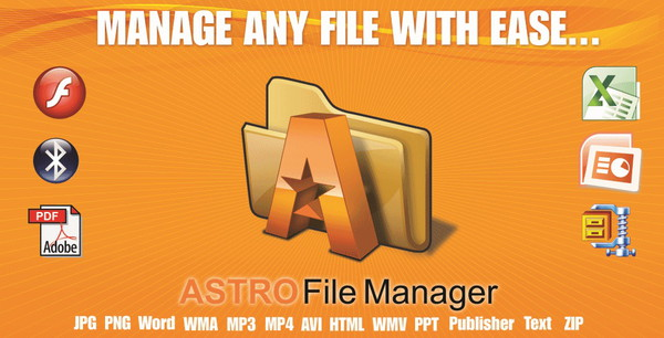 تحميل تطبيق File Manager Astro
