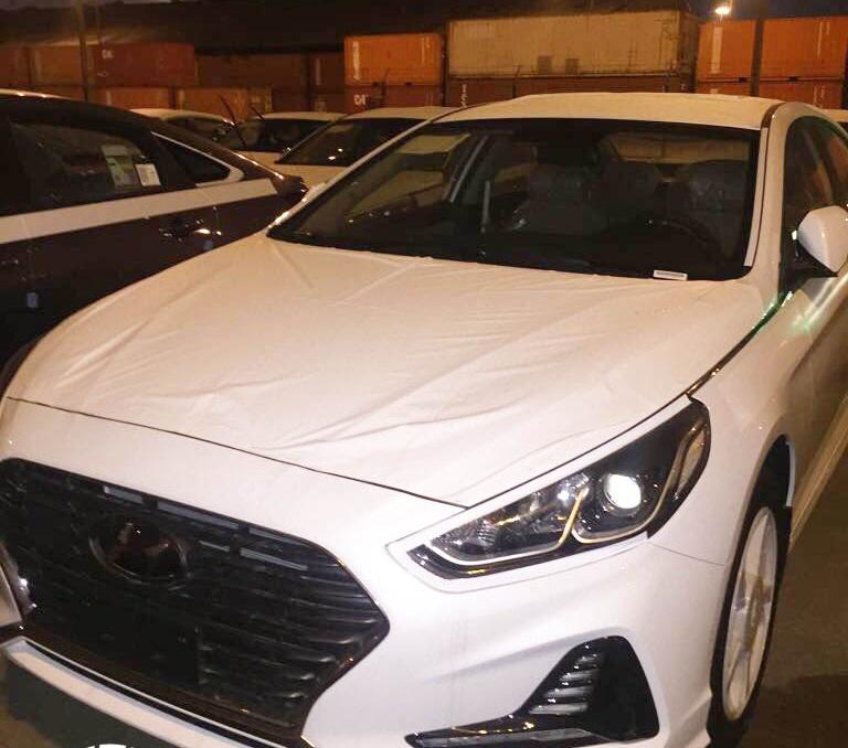 الصورة الاولى للسيارة هيونداي سوناتا 2018 في السعودية