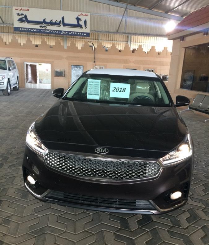 الواجهة الامامية الرياضية للسيارة كيا كادينزا 2018 الخليجي