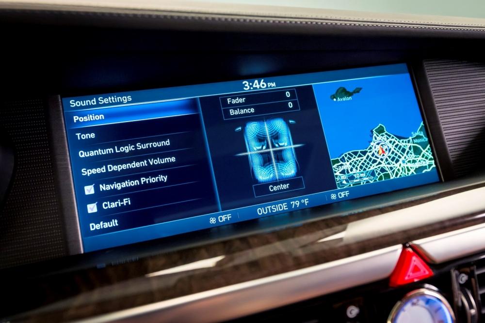 التصميم الداخلي الفاخر للسيارة الجديدة جينيسيس G90 2018