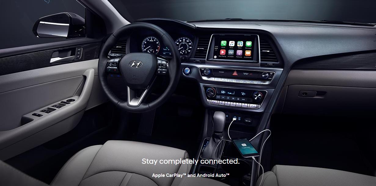 التحديثات الجديدة للسيارة هيونداي سوناتا 2018