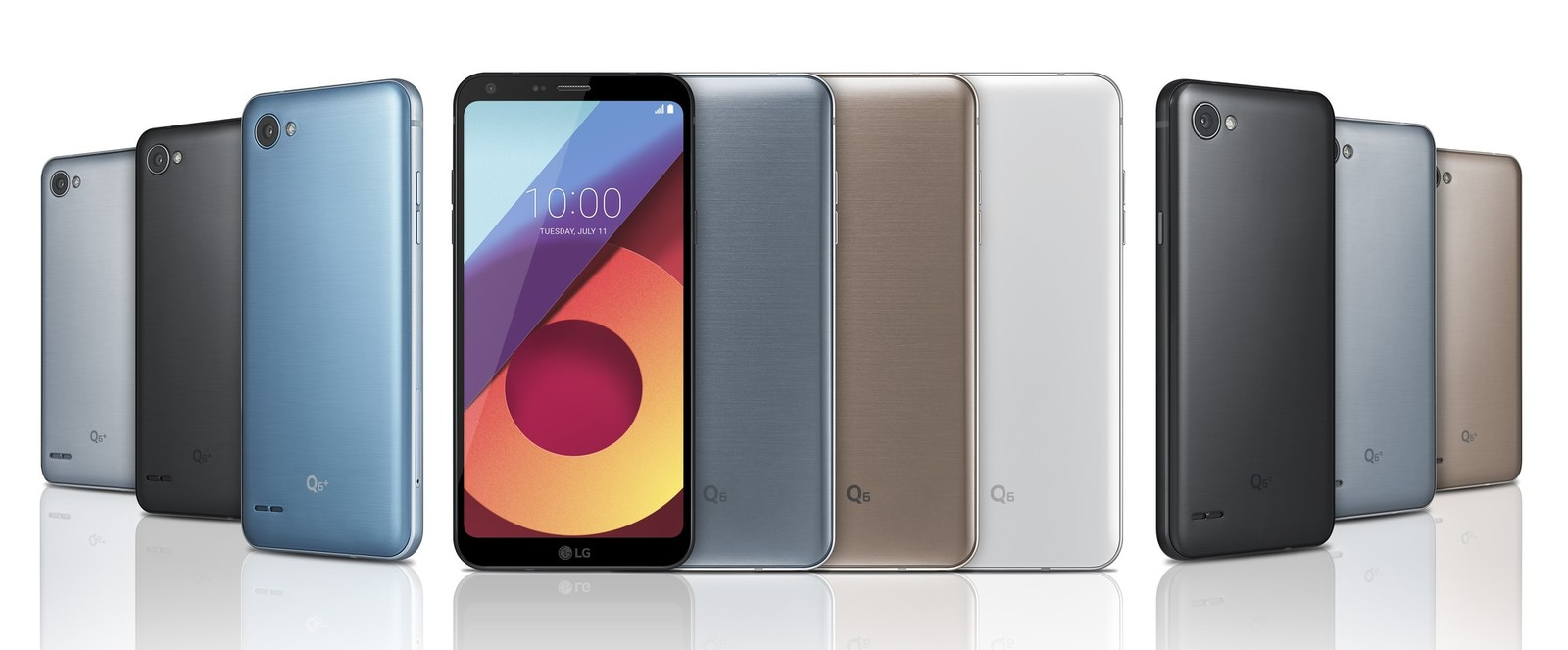 مواصفات الجوالات LG Q6 VS +LG Q6 VS LG Q6α