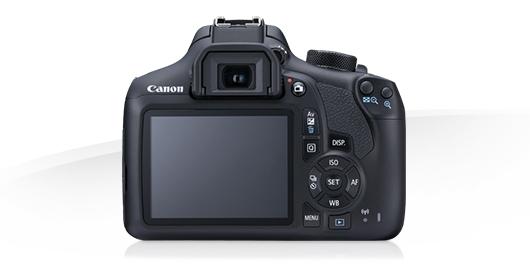 الكاميرا الخلفية للكاميرا كانون 1300 دي